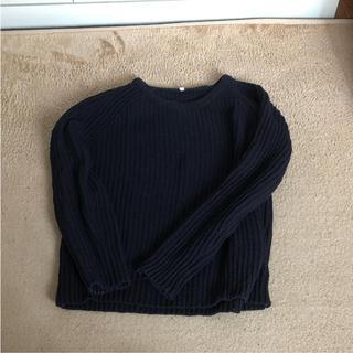 ムジルシリョウヒン(MUJI (無印良品))の無印 畦編みニット セーター(ニット/セーター)