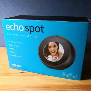 エコー(ECHO)のAmazon Echo Spot ブラック(スピーカー)