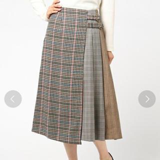 REDYAZEL ♥ チェックプリーツミドル丈スカート
