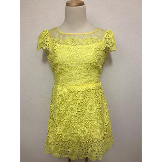 ドレス ワンピース 7号 Sサイズ(ミニドレス)