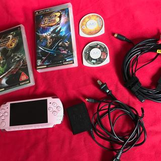 PlayStation Portable - PSP ブロッサムピンク ソフト付き