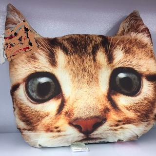 やすらぎを与えてくれるねこちゃんのクッション 猫 昼寝枕(クッション)