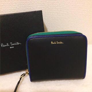 ポールスミス(Paul Smith)の新品本革 ポールスミス バイカラー 二つ折り財布(折り財布)