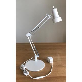 ムジルシリョウヒン(MUJI (無印良品))の無印良品  LEDミニアームライト・ベース付き MJ1220(テーブルスタンド)