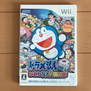 ウィー(Wii)のドラえもんWii ひみつ道具王決定戦!(家庭用ゲームソフト)