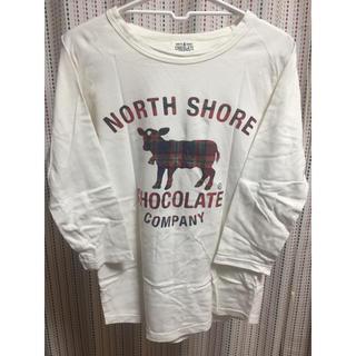 ノースショアチョコレートカンパニー(NORTH SHORE CHOCOLATE COMPANY)のロンT(カットソー(長袖/七分))
