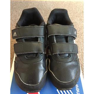 アディダス(adidas)のアディダス スニーカー 16cm ブラック(スニーカー)