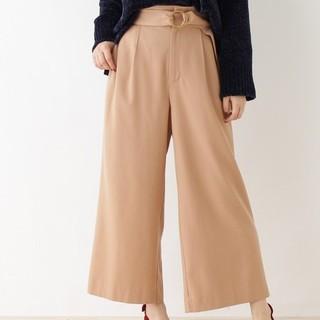 クチュールブローチ(Couture Brooch)の【最終価格】クチュールブローチ ワイドパンツ ベージュ(その他)