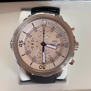 インターナショナルウォッチカンパニー(IWC)のIWC アクアタイマークロノグラフ(腕時計(アナログ))