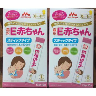 モリナガニュウギョウ(森永乳業)の粉ミルク E赤ちゃん スティックタイプ(その他)