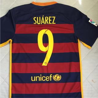ナイキ(NIKE)のバルセロナユニフォーム2015年スアレス9番(スポーツ選手)