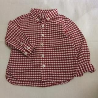 ムジルシリョウヒン(MUJI (無印良品))の長袖シャツ 90cm(Tシャツ/カットソー)