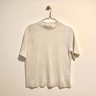 バーニーズニューヨーク(BARNEYS NEW YORK)のバーニーズ ハイネック トップス(Tシャツ(半袖/袖なし))