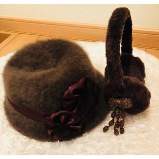 レディース帽子&耳あて セット販売(イヤーマフ)