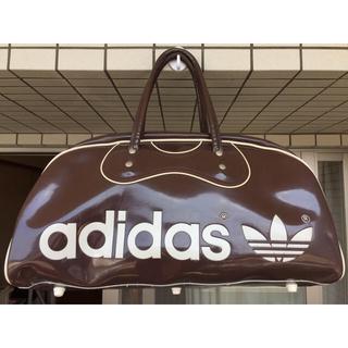 アディダス(adidas)のアディダス adidas エナメル ボストンバッグ ビンテージ(ボストンバッグ)