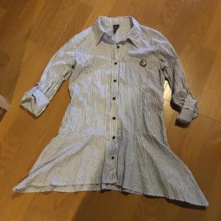 スナールエクストラ(Snarl extra)のSnarl extra ストライプシャツ(カットソー(半袖/袖なし))