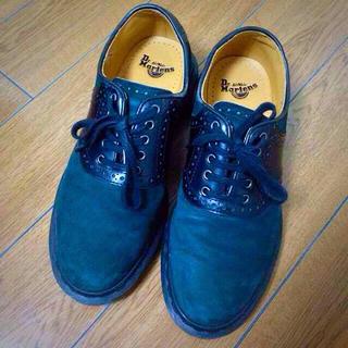 ドクターマーチン(Dr.Martens)のマーチンモスグリーン3ホール(ローファー/革靴)