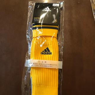 アディダス(adidas)のアディダスサッカーソックス 22~24センチ(ウェア)