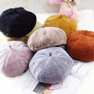 《即納》コーデュロイベレー帽