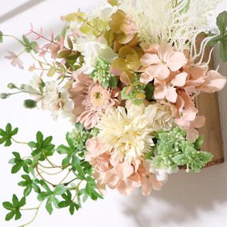 フラワーボックス 壁掛け お花(ハンドメイド)(その他)