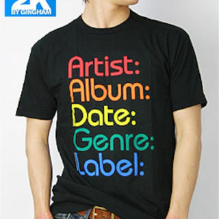 ツーケイバイギンガム(2K by Gingham)の2K アートデザインTシャツ(Tシャツ/カットソー(半袖/袖なし))