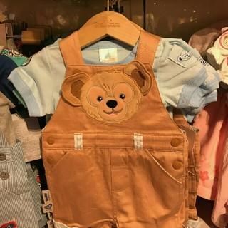 ディズニー(Disney)の☆香港ディズニー限定☆ダッフィーロンパース12-18ヵ月サイズ(Tシャツ/カットソー)