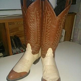 トニーラマ(Tony Lama)のトニーラマ レディースウエスタンブーツ リザードウイングチップ (ブーツ)
