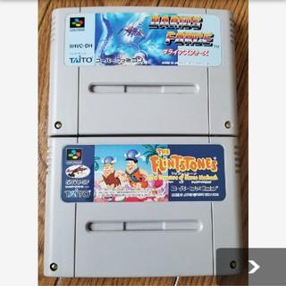 スーパーファミコン(スーパーファミコン)のダライアスフォース フリントストーン(家庭用ゲームソフト)