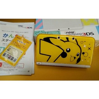 ニンテンドー3DS - new ニンテンドー3DS 本体 ピカチュウカバー付き 美品