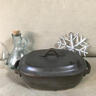 アラビア(ARABIA)の魔女の宅急便  ニシンのパイ 風  グラタン皿 蓋つき(調理道具/製菓道具)