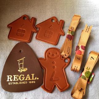 革製タグ+オリジナルリボン4本 土屋鞄 リーガル
