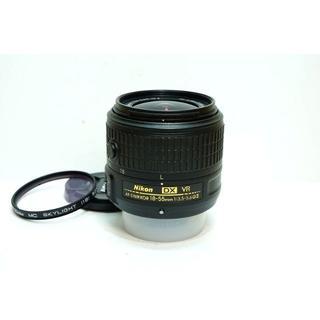 ニコン(Nikon)の【手振れ/ズーム】 Nikon AF-S DX 18-55mm VR II(レンズ(ズーム))