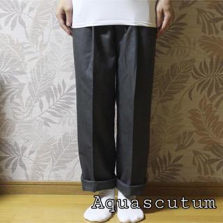 アクアスキュータム(AQUA SCUTUM)の【早い者勝ち】Aquascutum スラックス(スラックス)