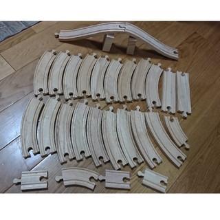 木のレール セット(電車のおもちゃ/車)