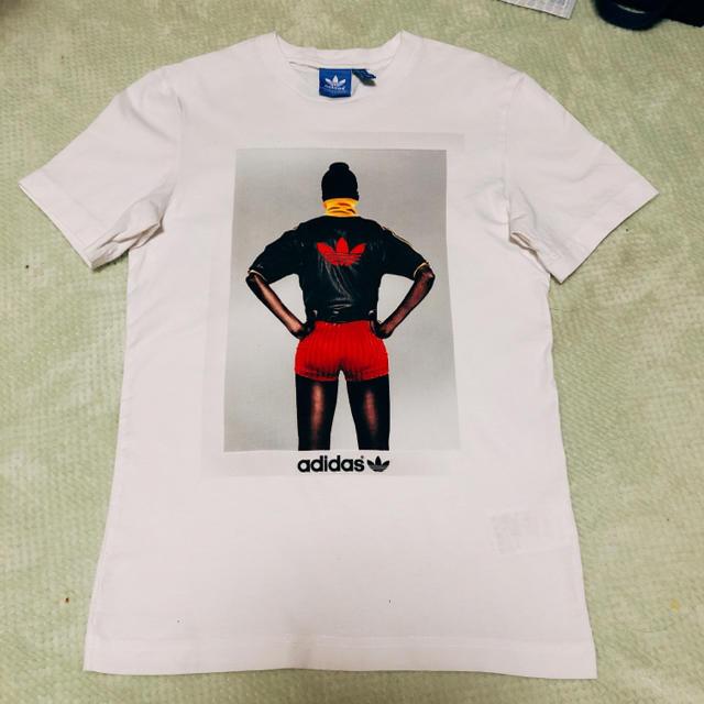 adidas(アディダス)のADIDASTシャツ メンズXSサイズ メンズのトップス(Tシャツ/カットソー(半袖/袖なし))の商品写真