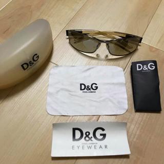 ドルチェアンドガッバーナ(DOLCE&GABBANA)のドルガバ ドルチェ&ガッバーナ サングラス D&G メンズ(サングラス/メガネ)