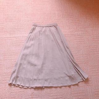 ジーユー(GU)のシフォンプリーツスカート シフォンスカート プリーツスカート ロングスカート(ロングスカート)
