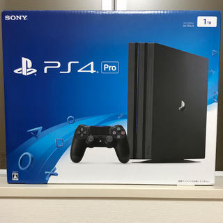 PlayStation4 - PS4 pro本体(CUH-7000BB01)