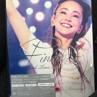 初回盤 安室奈美恵 2018 Finally+5月東京ドーム公演DVD5枚組新品(ミュージック)