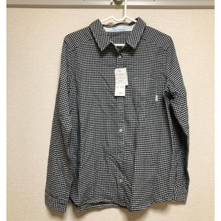 しまむら - 新品 未使用 しまむら ギンガムチェック 長袖 シャツ、ブラウス、トップス