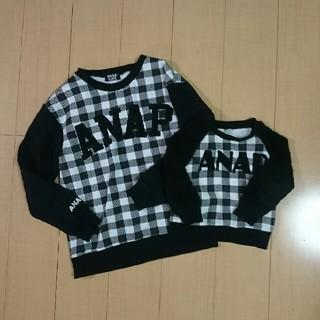 アナップキッズ(ANAP Kids)のANAP  100  M   親子ペア(Tシャツ/カットソー)