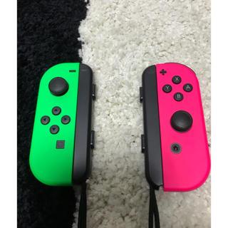 Nintendo Switch - ジョイコン ピンク&グリーン