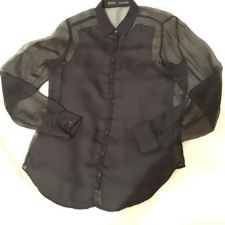 ZARA - ZARA   シースルーシャツ