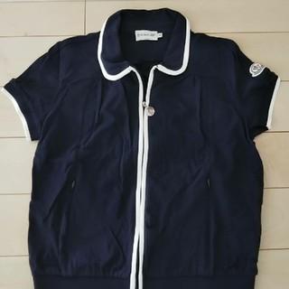 モンクレール(MONCLER)のモンクレールのジッパーポロシャツ(ポロシャツ)