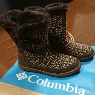 コロンビア(Columbia)のColumbia ムートン風ブーツ‼️(ブーツ)