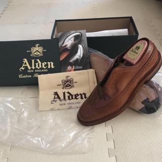 オールデン(Alden)の【新品】オールデン Alden ウイスキー ロングウイングチップ(ドレス/ビジネス)