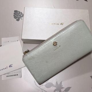 ヨンドシー(4℃)のLuria4℃ 美品 長財布(財布)