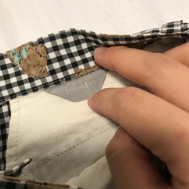 POWDER SUGAR(パウダーシュガー)のピンクハウス風 くまさん スカート レディースのスカート(ロングスカート)の商品写真