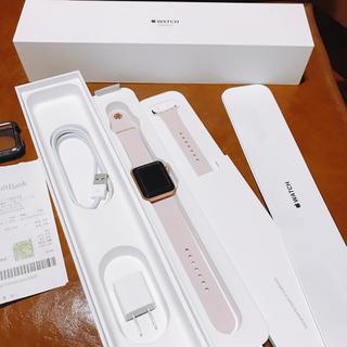 アップルウォッチ(Apple Watch)のえまさん専用 Apple watch 3 GPS+Cellular(スマートフォン本体)