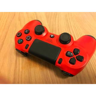 PlayStation4 - 【稼働良好‼️】PS4 マグマレッド コントローラー‼️